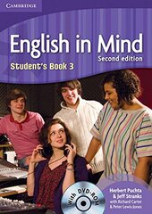 English in Mind 2nd Edition 3. Student's Book with DVD-ROM - фото обкладинки книги