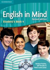 English in Mind 2nd Edition 4. Student's Book with DVD-ROM - фото обкладинки книги