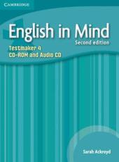 English in Mind 2nd Edition 4. Testmaker CD-ROM and Audio CD (диск з тестами) - фото обкладинки книги