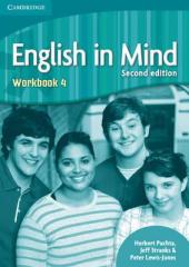 English in Mind 2nd Edition 4. Workbook - фото обкладинки книги