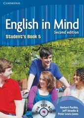 English in Mind 2nd Edition 5. Student's Book with DVD-ROM - фото обкладинки книги