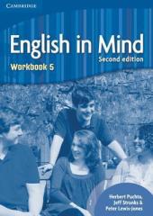 English in Mind 2nd Edition 5. Workbook - фото обкладинки книги