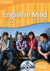English in Mind 2nd Edition Starter. Student's Book with DVD-ROM - фото обкладинки книги