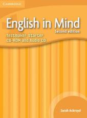 English in Mind 2nd Edition Starter. Testmaker CD-ROM and Audio CD (диск з тестами) - фото обкладинки книги
