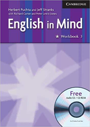 Робочий зошит English in Mind 3 WB w/CD
