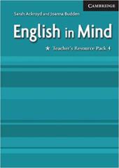 English in Mind 4 Teacher's Resource Pack - фото обкладинки книги