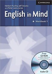 English in Mind 5 WB w/ CD - фото обкладинки книги
