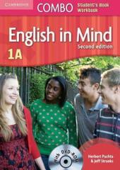 English in Mind Combo 1A 2nd Edition. SB + WB + DVD-ROM (підручник + робзошит + диск) - фото обкладинки книги