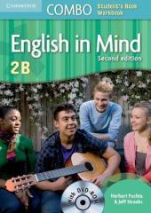 English in Mind Combo 2B 2nd Edition. SB + WB + DVD-ROM (підручник + робзошит + диск) - фото обкладинки книги