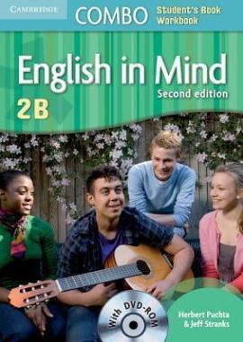 English in Mind Combo 2B 2nd Edition. SB + WB + DVD-ROM (підручник + робзошит + диск) - фото книги