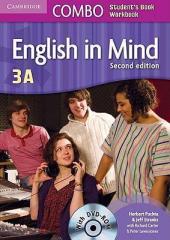 English in Mind Combo 3A 2nd Edition. SB + WB + DVD-ROM (підручник + робзошит + диск) - фото обкладинки книги