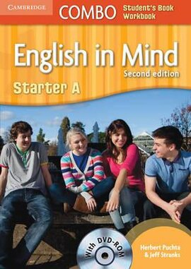 English in Mind Combo Starter A 2nd Edition. SB + WB + DVD-ROM (підручник + робзошит + диск) - фото книги