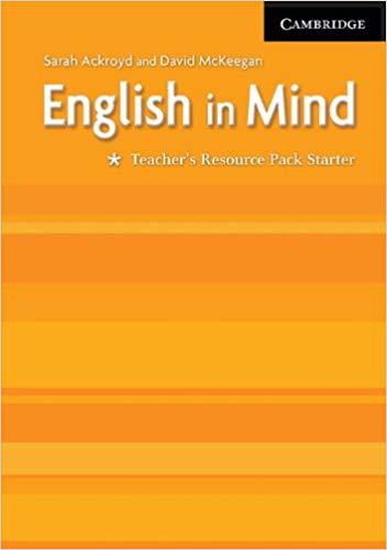 Книга для вчителя English in Mind Starter Teacher's Resource Pack