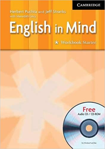 Робочий зошит English in Mind Starter WB w/CD