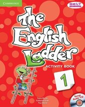 English Ladder Level 1. Activity Book with Songs Audio CD - фото обкладинки книги