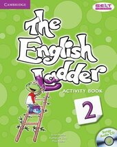 English Ladder Level 2. Activity Book with Songs Audio CD - фото обкладинки книги