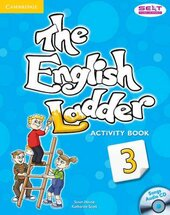 English Ladder Level 3. Activity Book with Songs Audio CD - фото обкладинки книги