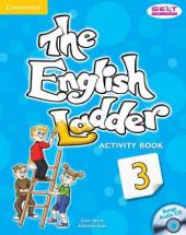 English Ladder Level 3. Activity Book with Songs Audio CD - фото обкладинки книги