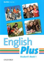 English Plus 1: Student's Book (підручник) - фото обкладинки книги