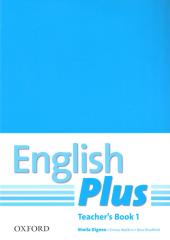 English Plus 1: Teacher's Book with Photocopiable Resources (книга для вчителя) - фото обкладинки книги
