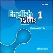 English Plus 2nd edition 1. Class Audio CDs (набір із 3 аудіодисків) - фото обкладинки книги