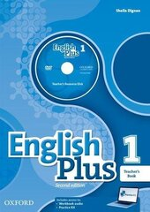 English Plus 2nd edition 1. Teacher's Book with Teacher's Resource Disk and access to Practice Kit - фото обкладинки книги