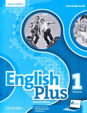 English Plus 2nd edition 1. Workbook. Edition for Ukraine - фото обкладинки книги