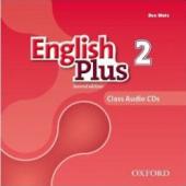 English Plus 2nd edition 2. Class Audio CDs (набір із 3 аудіодисків) - фото обкладинки книги