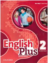 English Plus 2nd edition 2. Student's Book - фото обкладинки книги