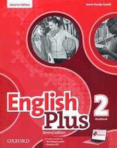 English Plus 2nd edition 2. Workbook. Edition for Ukraine - фото обкладинки книги