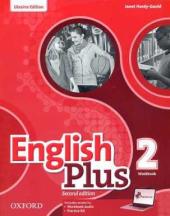 English Plus 2nd edition 2. Workbook. Edition for Ukraine - фото обкладинки книги