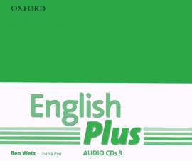 English Plus 3: Class Audio CDs (4) (аудіодиск) - фото книги