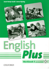 English Plus 3: Workbook with MultiROM - фото обкладинки книги