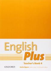 English Plus 4: Teacher's Book with Photocopiable Resources (книга для вчителя) - фото обкладинки книги