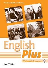 English Plus 4: Workbook with MultiROM (робочий зошит) - фото обкладинки книги