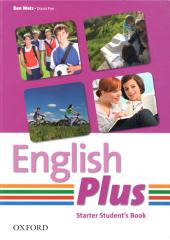 English Plus Starter: Student's Book (підручник) - фото обкладинки книги