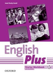 English Plus Starter: Workbook with MultiROM - фото обкладинки книги