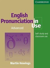 English Pronunciation in Use Advanced Book with Answers, with Audio - фото обкладинки книги