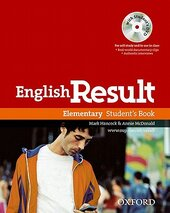 English Result Elementary: Student's Book (підручник+ диск) - фото обкладинки книги