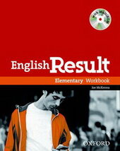 English Result Elementary: Workbook with Answer Booklet with MultiROM - фото обкладинки книги
