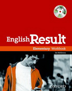 English Result Elementary: Workbook with Answer Booklet with MultiROM - фото книги