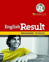 English Result Intermediate: Workbook with Answer Booklet with MultiROM - фото обкладинки книги