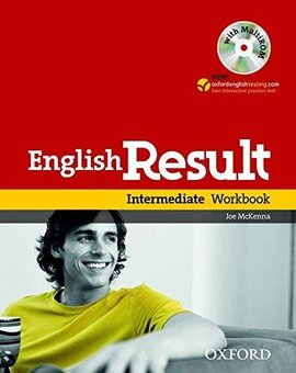 English Result Intermediate: Workbook with Answer Booklet with MultiROM - фото книги