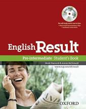 English Result Pre-Intermed: Student's Book (підручник+диск) - фото обкладинки книги