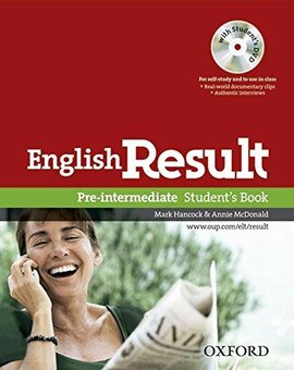 English Result Pre-Intermed: Student's Book (підручник+диск) - фото книги