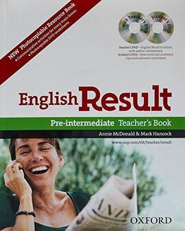 English Result Pre-Intermediate: Teacher's Book with DVD and Photocopiable Materials Book - фото книги