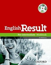English Result Pre-Intermediate: Workbook with Answer Booklet with MultiROM - фото обкладинки книги