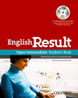 English Result Upper-Interm: Student's Book (підручник+диск) - фото книги