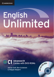 English Unlimited Advanced B - фото книги
