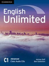 English Unlimited Advanced Class Audio CDs - фото обкладинки книги